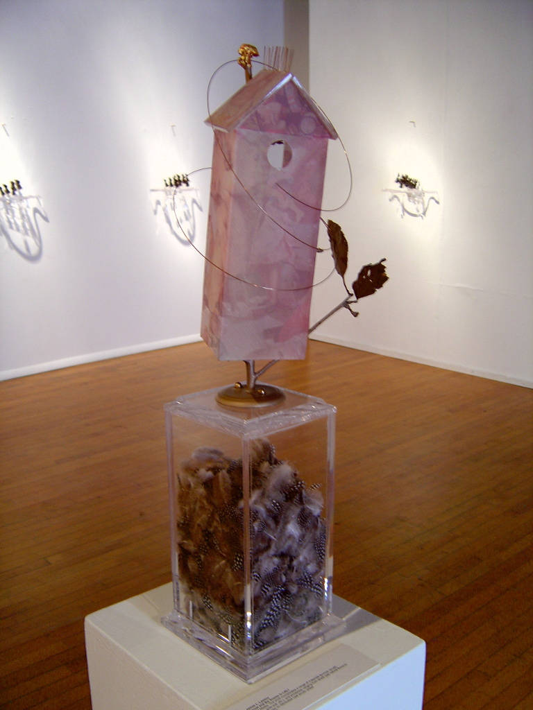 Locust and the Snares in Life I, 2004